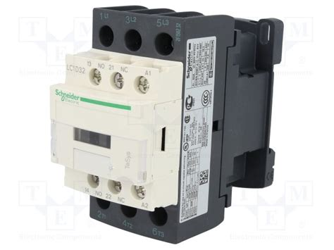lc1d32p7 schneider electric contactor 3 pole tme