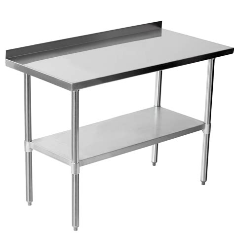 stainless steel kitchen table furniture chic stainless steel prep table for kitchen