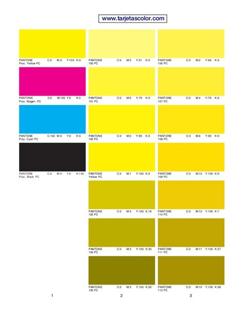 process color pantone