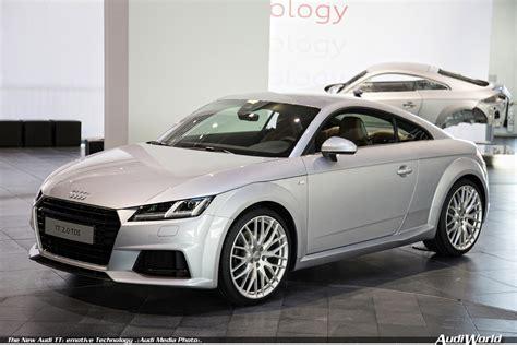 Neu Audi Tt by The New Audi Tt Emotive Technology Audiworld