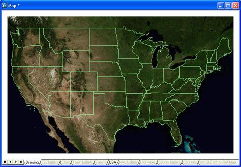 usa satellite map satellite usa map my