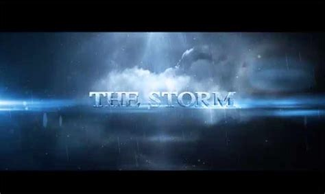 Storm Intro After Effects Template Free Ae Templates After Effects Intro Template