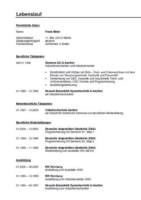 Bewerbung Industriemechaniker Ausbildung Muster Bewerbung Ausbilder F 252 R Industriemechaniker