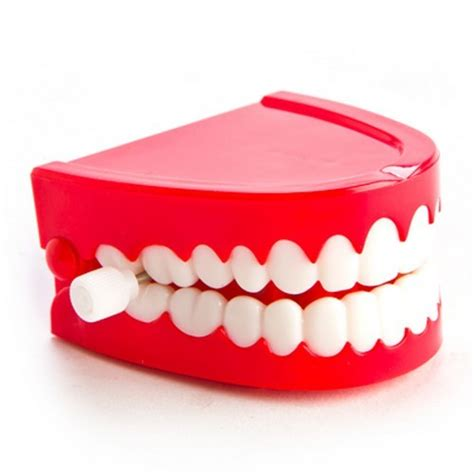 teeth chattering wind up large chattering teeth spreester