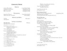 And galveston bay catholic wedding programs for a non mass ceremony