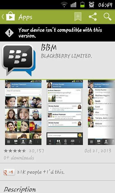 Android Can T by Can T Bbm For Android Blackberry Forums At
