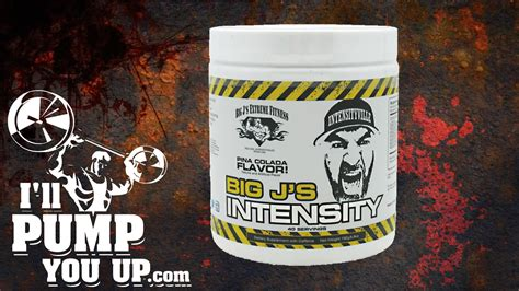 big j supplements big j s intensity pre workout supplement review with taste