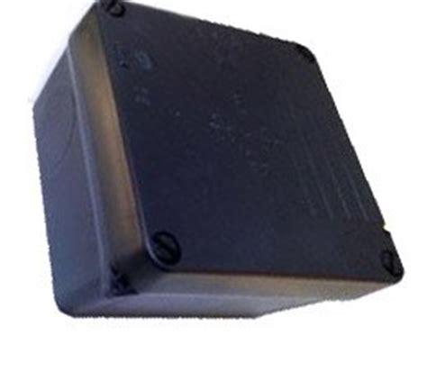 Junction Box 80x80x45 Black flush mount black outdoor junction box ip65 weatherpro of black for cctv cables etc 100 x 100