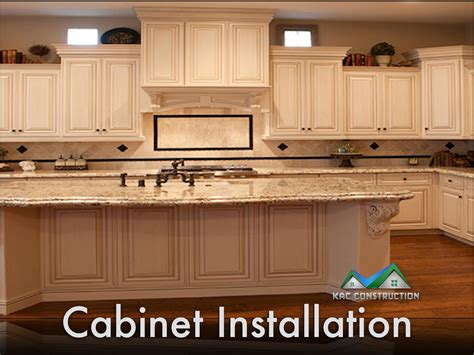 kitchen cabinet installation kitchen cabinet installation ri kac construction inc