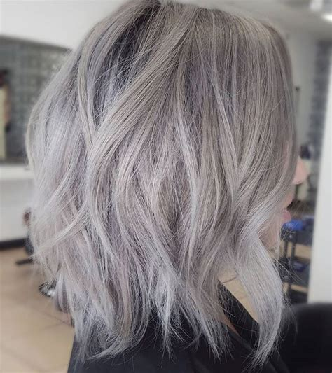short silver blonde hair warm gray hair hair pinterest gray hair gray and