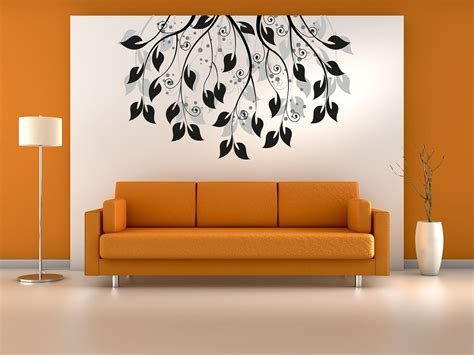 simple wall designs simple wall painting designs for living room home combo