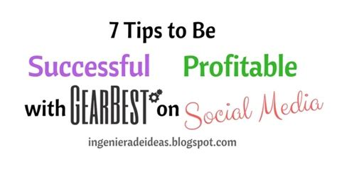 7 Tips On Being A by 7 Tips To Be Successful Profitable With Gearbest On