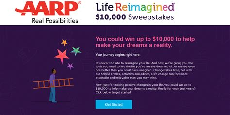 How To Sweepstakes For A Living - win 10 000 in aarp s life reimagined sweepstakes granny