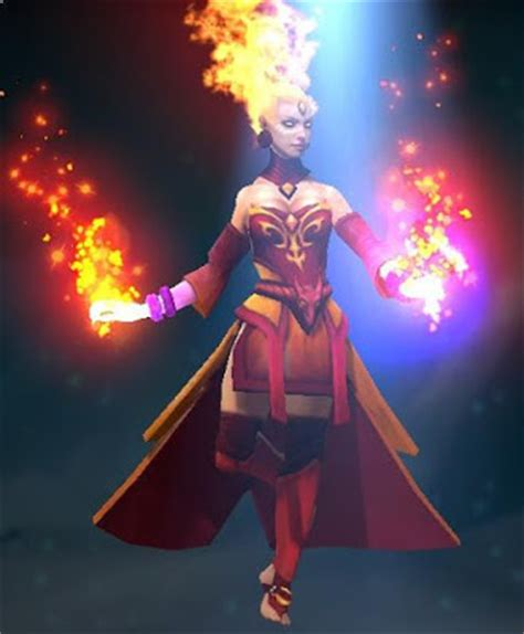 lina arcana fiery soul of the slayer dota 2 mods
