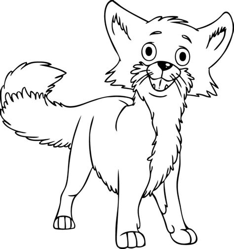 fox pictures for kids az coloring pages