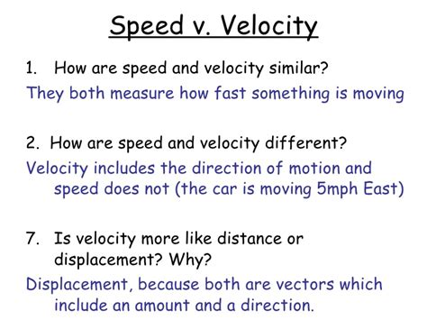 Physical Science Section 11 1 Distance And Displacement Answers by 28 Section 11 2 Speed And Velocity Worksheet Answers