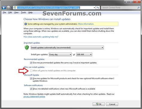 click quot install quot your computer will restart several times windows update enable or disable quot who can install