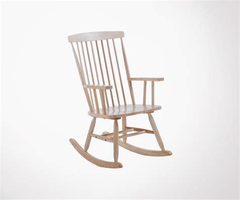 chaise a bascule design chaise 224 bascule bois style cagne et moderne