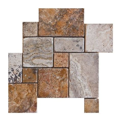 kitchen tiles random pattern buy opus scabos random square tumbled finish versailles