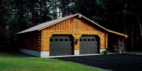 log cabin garages lok n logs log homes cabins manufacturer sherburne