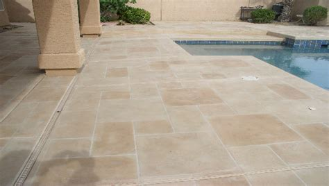 stone pool deck stone pool decks
