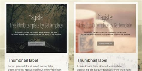 templates bootstrap magister magister free one page bootstrap template bypeople