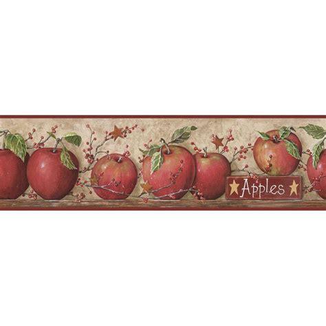 apple wallpaper kitchen york wallcoverings apple wallpaper border cb5558bd the