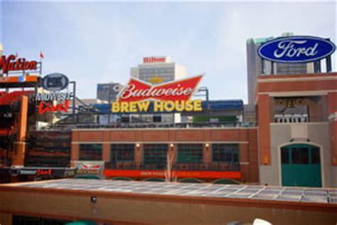 Budweiser Brew House Deck St Louis Cardinals