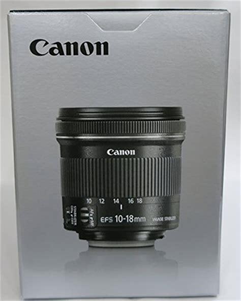 Canon Ef S 10 18 F45 56 Is Stm canon ef s10 18isstm 10 18 mm f 4 5 5 6 is stm obiettivo ultragrandangolare con zoom per