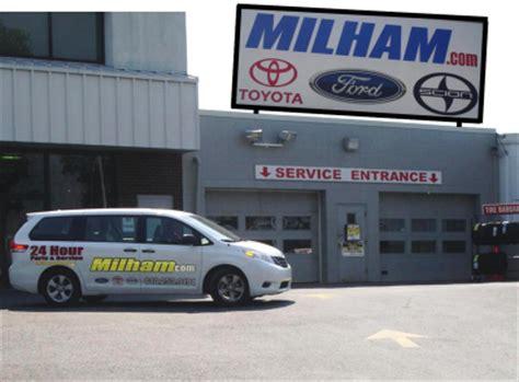 Milham Toyota Reviews Milham Ford Toyota Scion Auto Repair Shop Easton Pa 18045