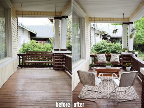 Country Home With Wrap Around Porch elsie s front porch before after a beautiful mess