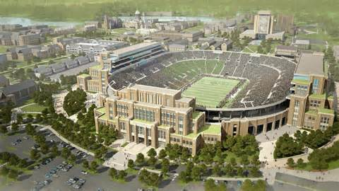 Rolfs by Notre Dame Plans 400m Project At Football Stadium