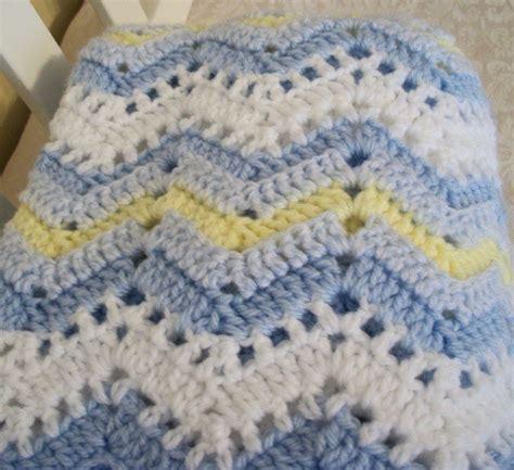 Crochet Ripple Baby Blanket Pattern by Baby Blanket Crochet Free Pattern Ripple Crochet Patterns