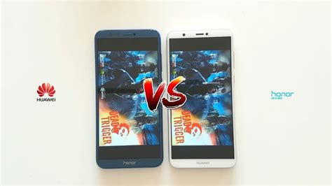 huawei p smart vs honor 9 lite speed test which is faster