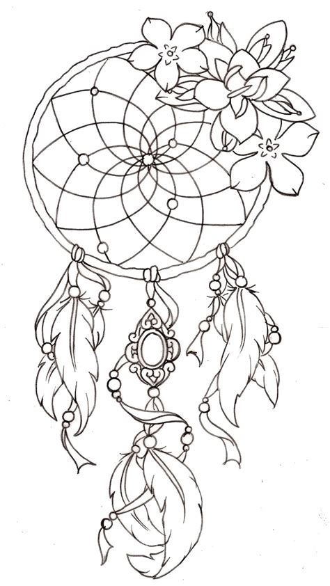 tattoo design coloring pages dreamcatcher tattoos designs ideas and meaning tattoos