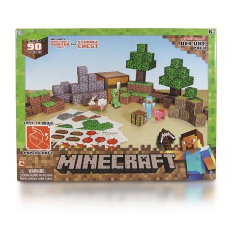 Minecraft Deluxe Papercraft - minecraft papercraft deluxe 蝴wiat minecraft gra za