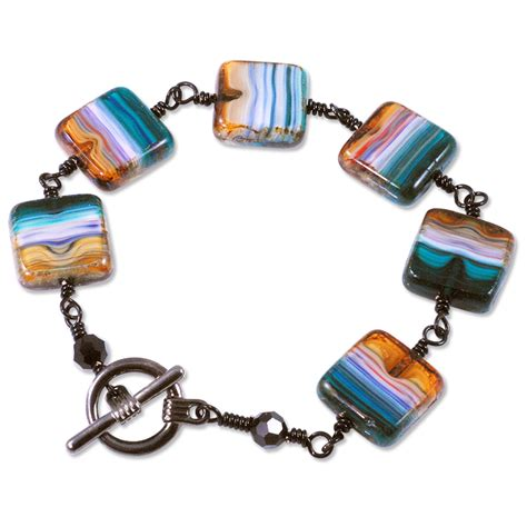jewelry projects pacific sunset bracelet project glass bead jewelry