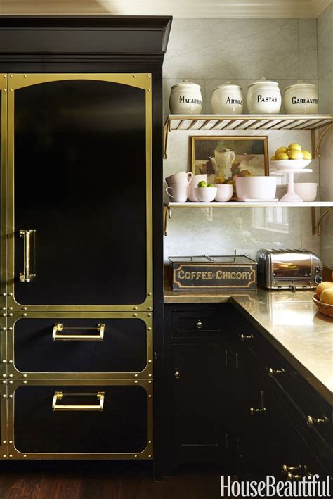 used designer kitchens amazing black kitchen cabinets that are right on trend for