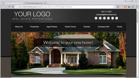 48 mobile friendly real estate website templates available