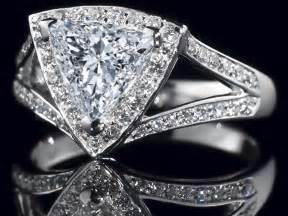 trillion halo engagement ring pave split band