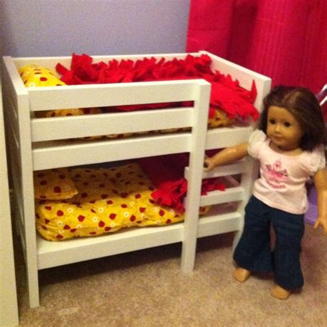 american girl doll bunk beds american girl doll bunk bed for caroline pinterest
