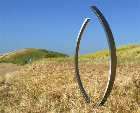 sculpture modern art landscape garden design news