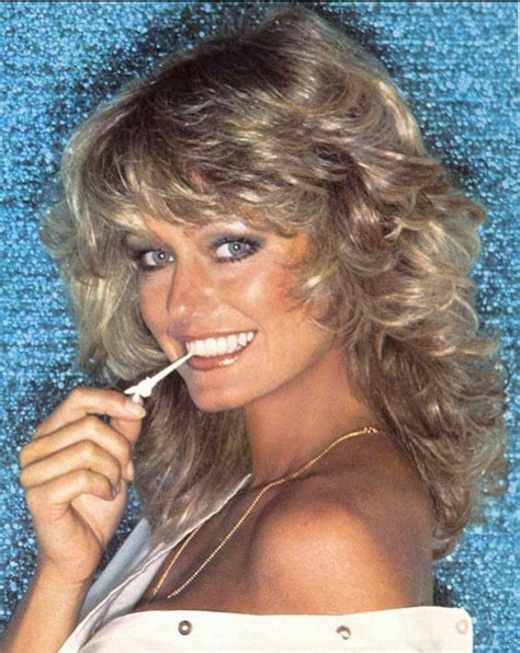 70s feathered hair 177 best images about charlies angel farrah fawcett on