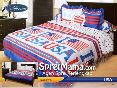 California Usa Sprei 180x200 sprei california usa 180x200 sprei