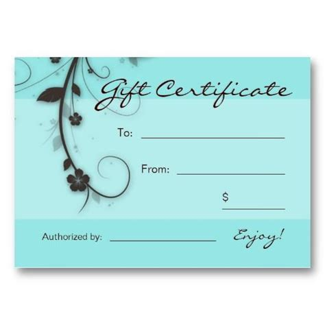 free printable hair salon gift certificate template 130 best images about nails on pedicures