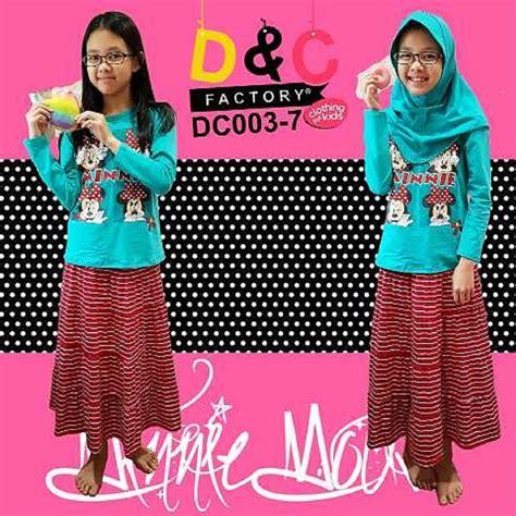 Nk303 Baju Branded Murah Rosetz Baju Muslim Dr Kode Mp303 2 setelan d c minnie grosir baju anak branded baju anak muslim baju kaos anak muslim baju