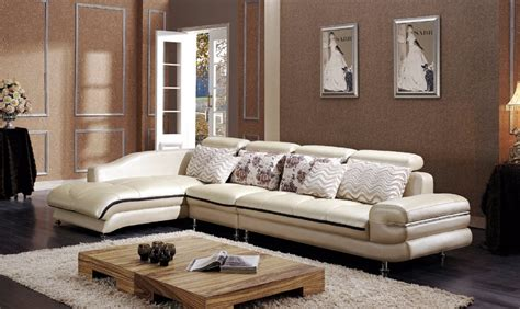 Online Buy Wholesale Leather Corner Sofa From China Leather Living Room Sets Sale