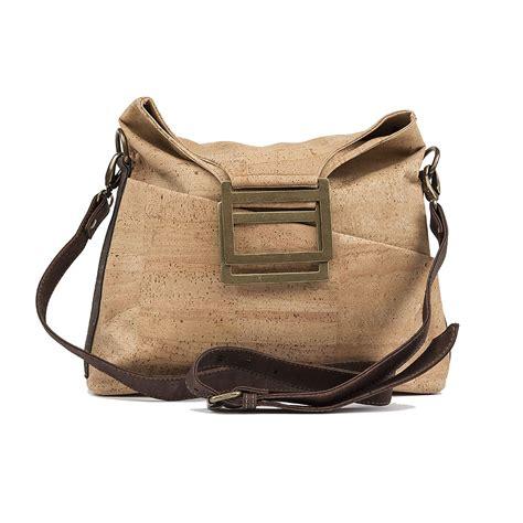 Handbag Handmade - cork vegan handbag multi look s stylish bag cork