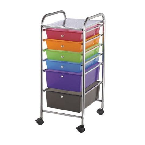Mobile Storage Drawers Buy Mobile Storage Cart 6 Drawer Multi Os1