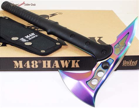 fighting tomahawk united m48 rainbow hawk tactical fighting survival hatchet